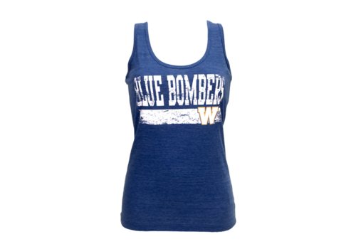 New Era Faded Blue Bombers Tank
