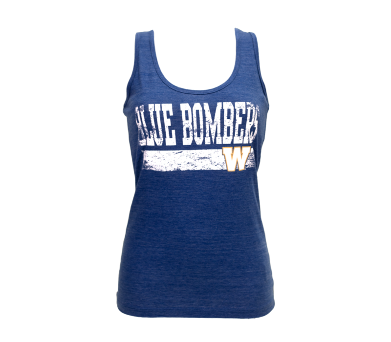 Faded Blue Bombers Tank