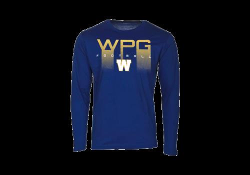 Bulletin WPG Football Over W Logo L/S