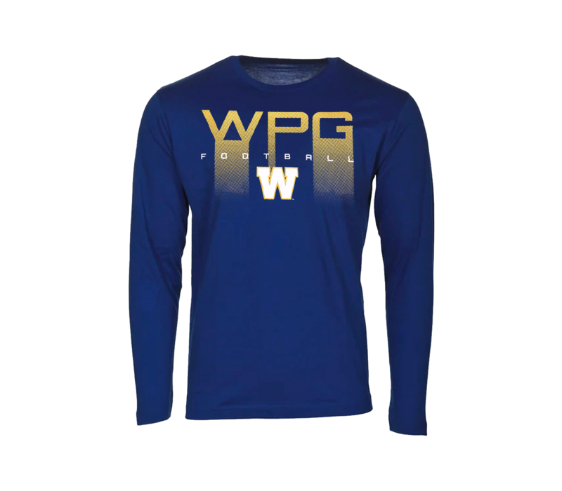 WPG Football Over W Logo L/S