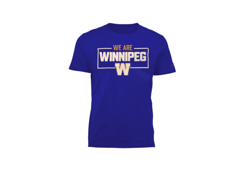Bulletin Men's - We Are Winnipeg Royal Tee