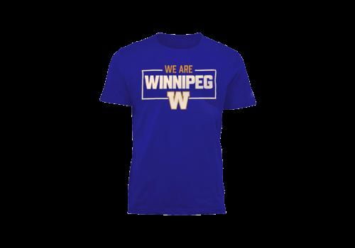 Bulletin Men's - We Are Winnipeg Royal Tee