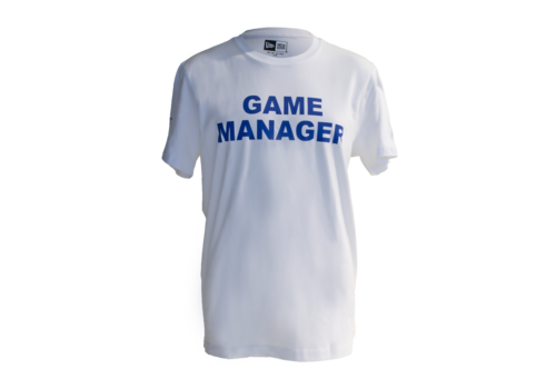 New Era Mens Game Manager Tee