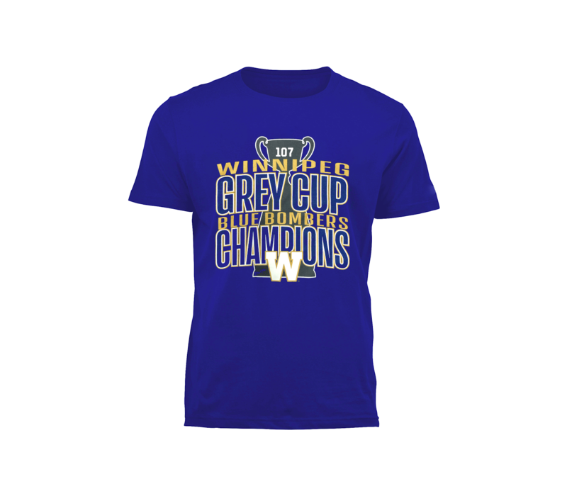 Blue Bombers Champions Tee
