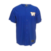 New Era Royal Baseball Jersey Tee