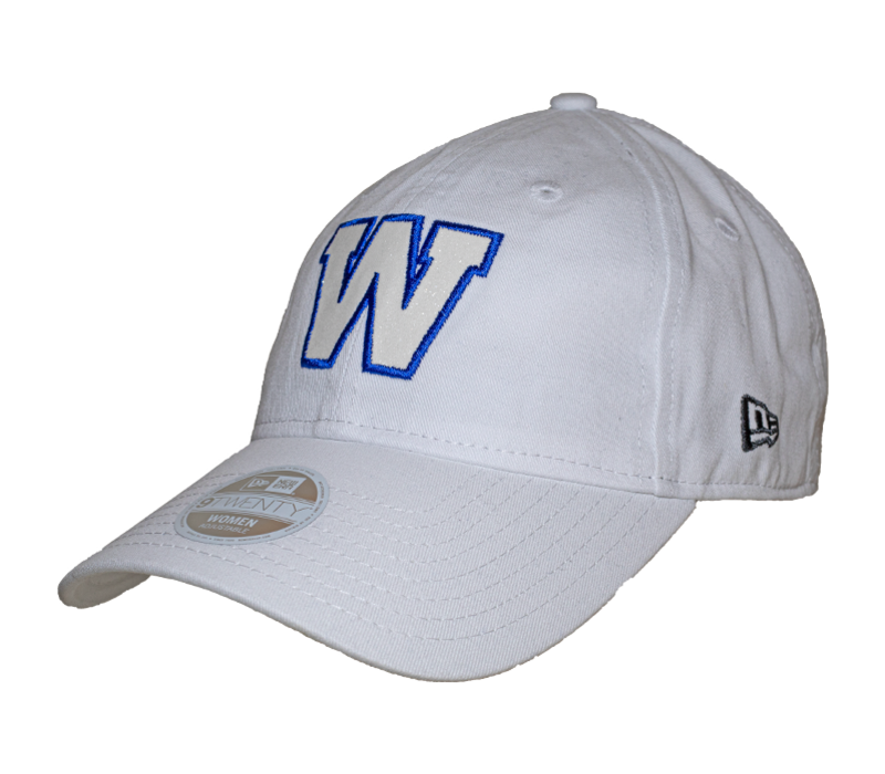9Twenty White Team Glisten Cap