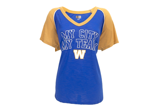 New Era Ladies My City My Team V-Neck