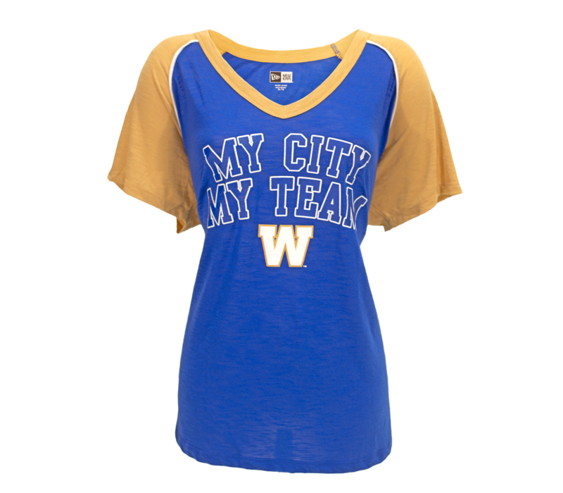 Ladies My City My Team V-Neck