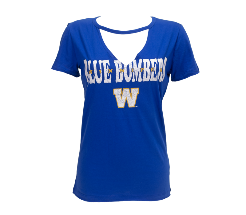 Ladies Royal Cutout V-Neck Tee