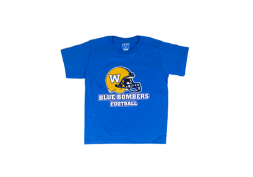 ESA Helmet Blue Bombers Royal Tee