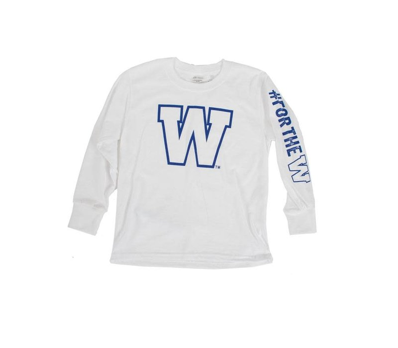 Youth W Logo Long Sleeve
