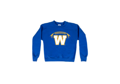 ESA Youth Stylized Football Crewneck