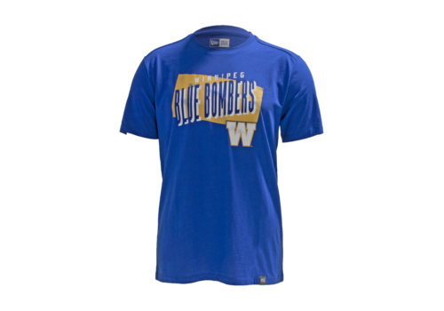 New Era Royal SL Faded Gold Tee