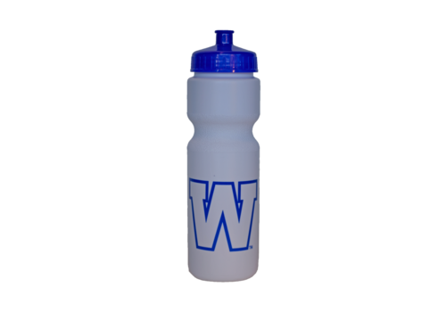 The Sports Vault 28oz Plastic W Water Bottle
