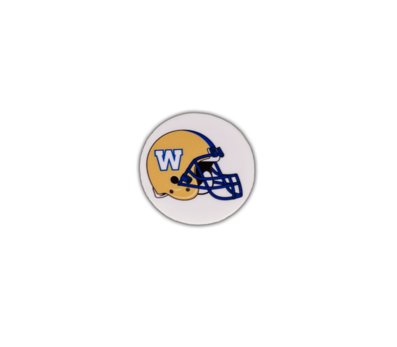 Helmet Logo Pop Socket
