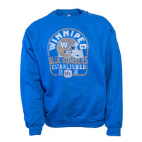 Arched Faded Helmet Crewneck