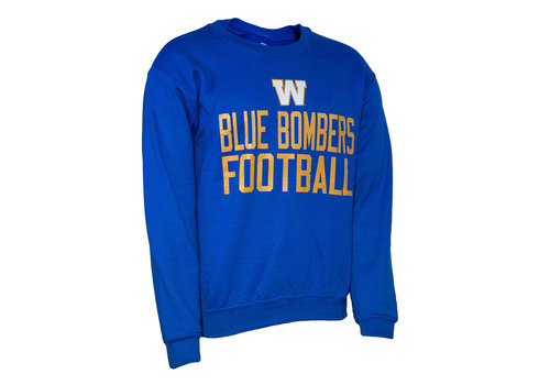 Bulletin Blue Bombers Football Crewneck
