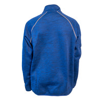Heather Royal 1/2 Zip Jacket