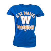 Ladies 11 Time Grey Cup Champs Tee