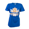 Bulletin Ladies 107 G C Champions Maple Leaf Tee
