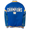 Saxon 107th Grey Cup Champions Melton Leather Jacket