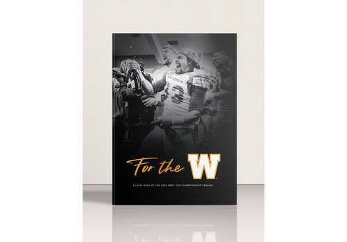PRE-ORDER: Winnipeg Blue Bombers Commemorative Grey Cup Championship Book