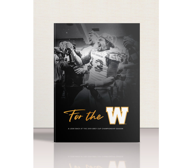 107th Blue Bombers Commemorative Grey Cup Championship Book