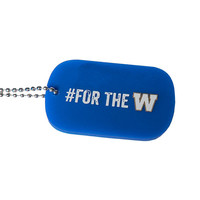 Silicone #ForTheW Dog Tag