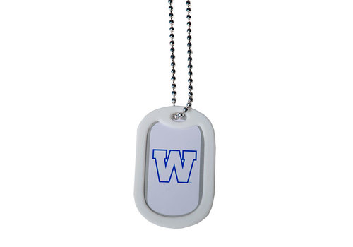 Jian Metal #ForTheW Dog Tag