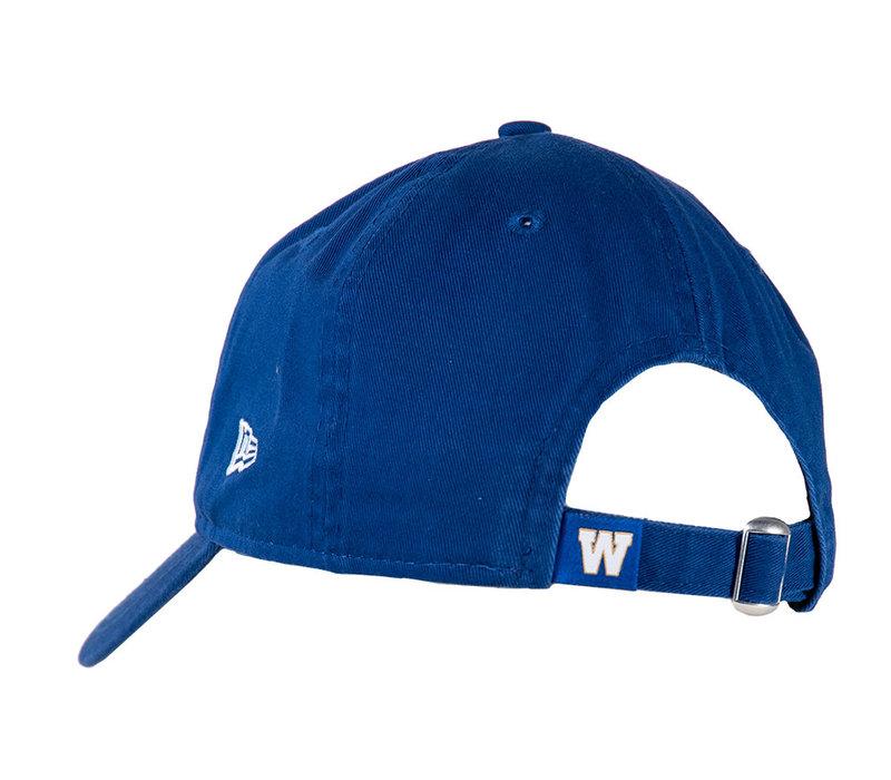 9Twenty Ladies Blue Bombers Patch Cap
