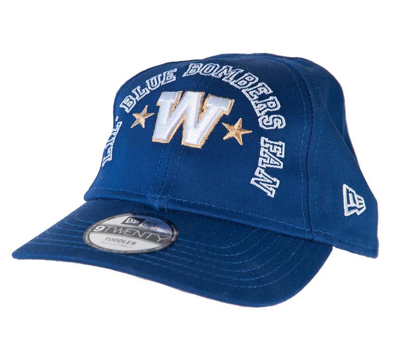 9Twenty Lil Blue Bomber Fan Cap