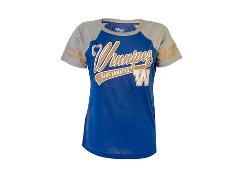 G-III for Her Double Play Raglan Tee