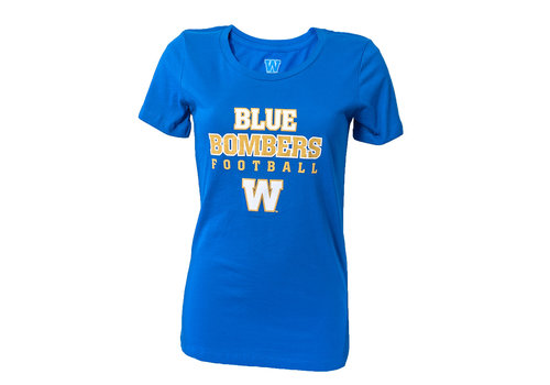 ESA Women's - BB Football Tee