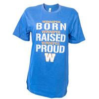 Born Raised Proud W Tee