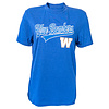 New Era Royal Blue Bombers Script Tee