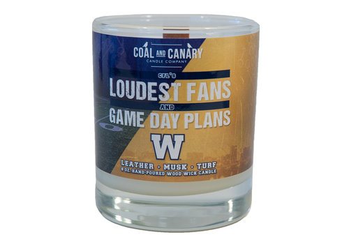 Coal & Canary CFL's Loudest Fans Candle