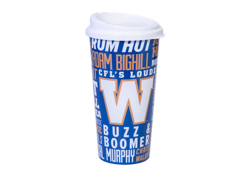 Winnipeg Football Club Bombers Plastic Travel Cup