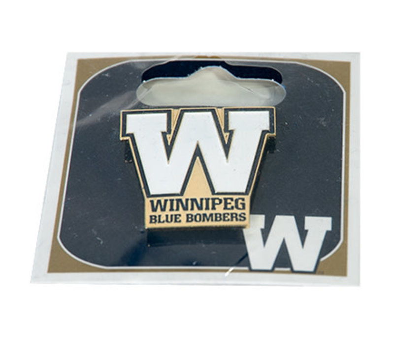 Winnipeg Blue Bombers Pin