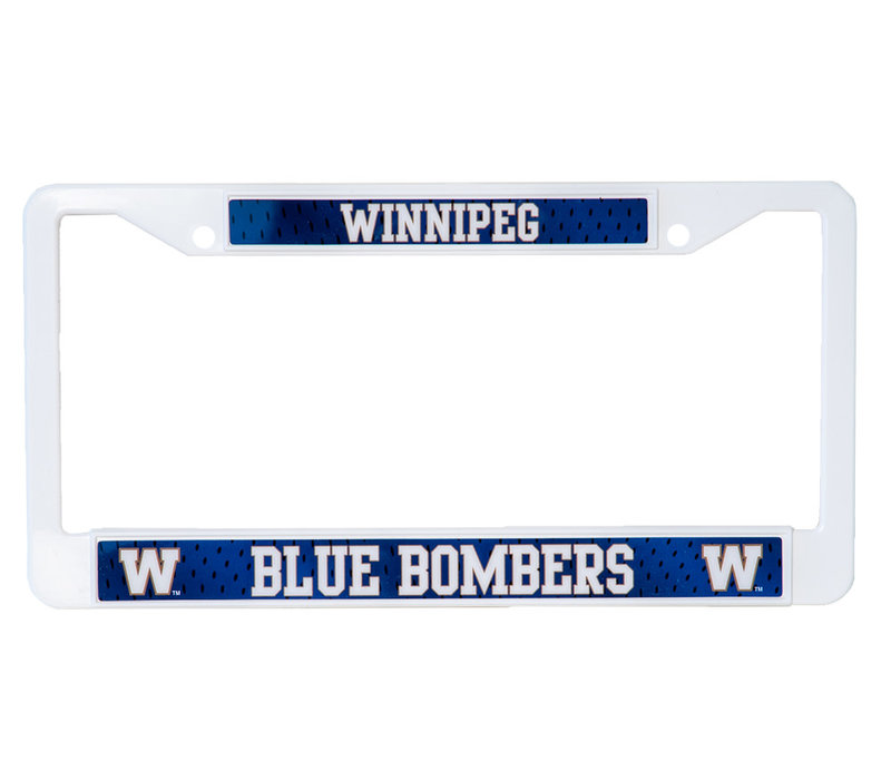 Plastic Licence Plate Frame