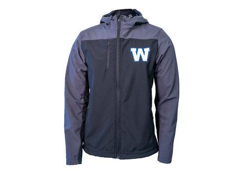 New Era Sideline Greyblack Jacket