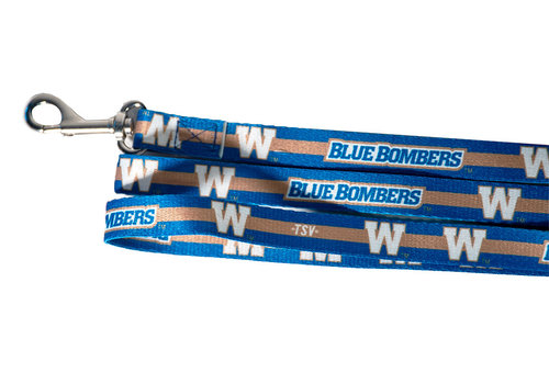 The Sports Vault Blue Bombers Pet Leash