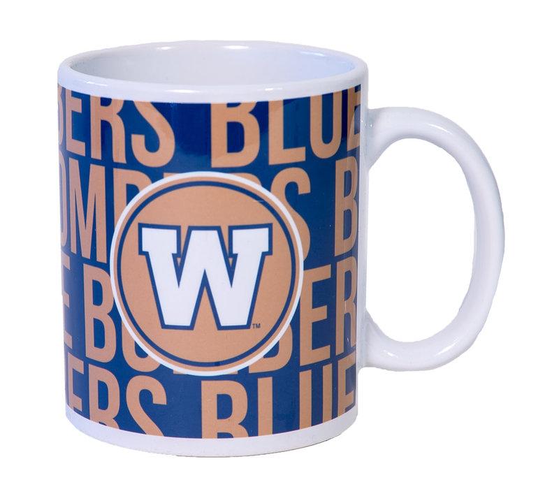 11 Oz Blue Bombers Team Mug