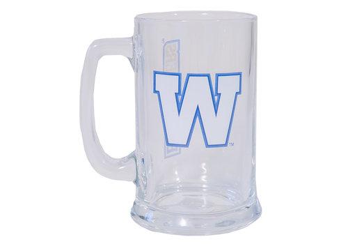 The Sports Vault 15oz Primary W Glass Mug