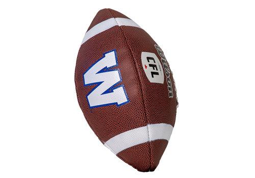Wilson Junior Replica CFL W Logo Football