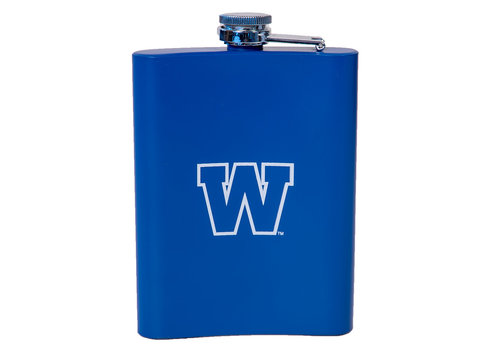 The Sports Vault Elite 8oz Royal Flask