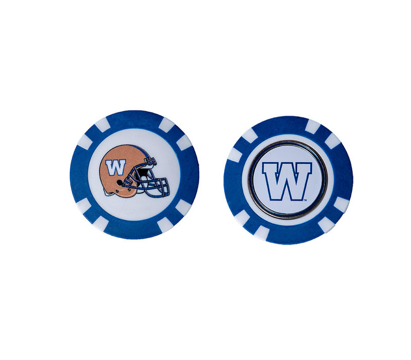Golf Chip Ball Marker - W Logo