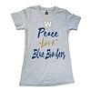 "Bulletin Girls Glitter Peace ""Love"" Tee"