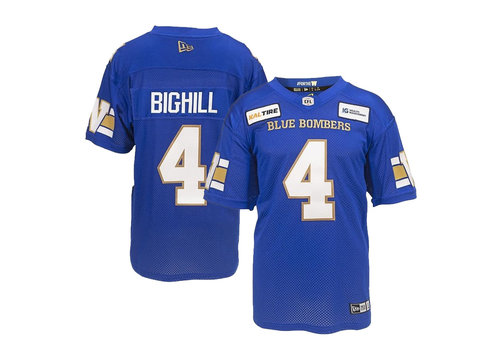 New Era #4 Adam Bighill Home Jersey