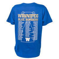 Grey Cup Champions Roster Tee