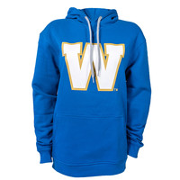 Gameday Primary W Royal Hooded Sweatshirt